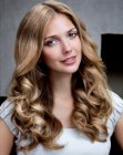 tagli lunghi trendy - trendy hairstyle with waves