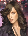 tagli lunghi trendy - lush wide curls for long hair