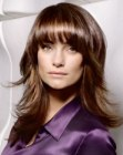 capelli lunghi - face flattering hairstyle
