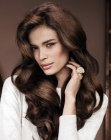 tagli lunghi – long hairstyle with volume