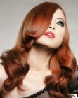 tagli lunghi – long red Asian hair