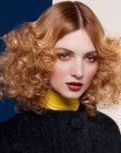 tendenze per capelli - hair with curls and spirals