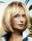 capelli medi – one length bob