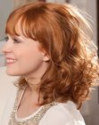 tagli moderni - playful hairstyle with curls