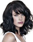 nuovi tagli medi - long bob with curls