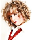 tendenze tagli medi - Mid-length curly hair photo
