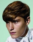 capelli per ragazzi – fluid haircut for men