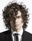 tagli per uomini - curls for career men