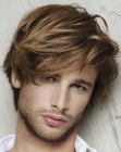 acconciature per uomini - male hairstyle with fringe