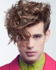 acconciature per ragazzi - modern curls for men