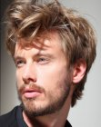 looks per uomini – disheveled hair for men